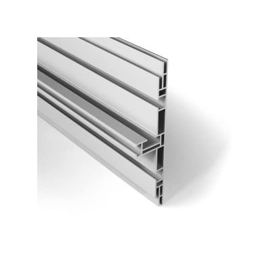 Profilet aluminium double face